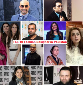 Top 10 Best Fashion Designers In Pakistan